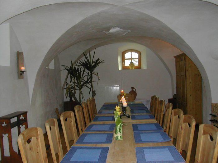 Seminarhaus Speiseraum 50qm